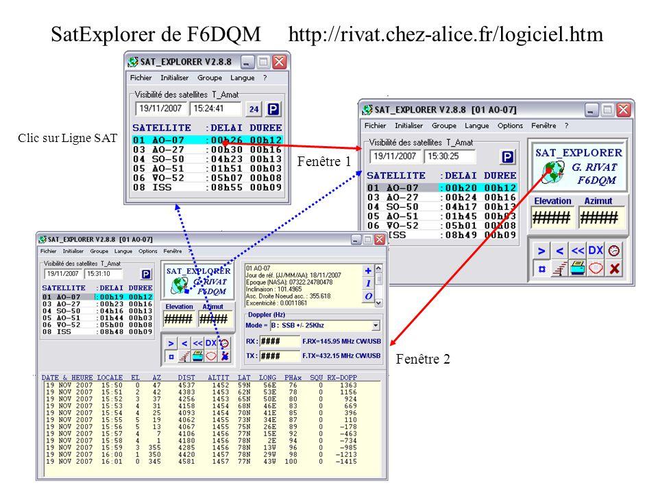 SatExplorer de F6DQM http://rivat.chez-alice.fr/logiciel.htm