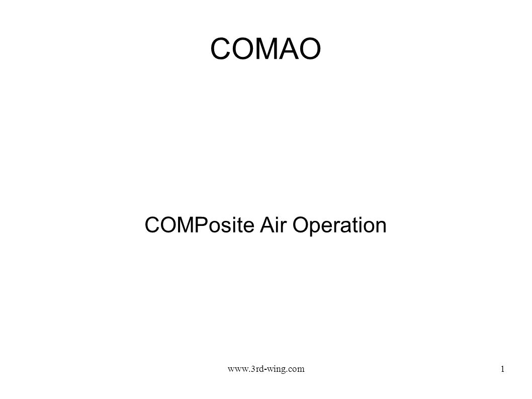 COMPosite Air Operation