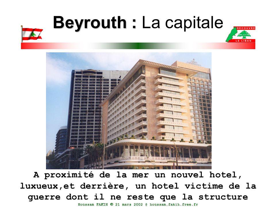 Beyrouth : La capitale
