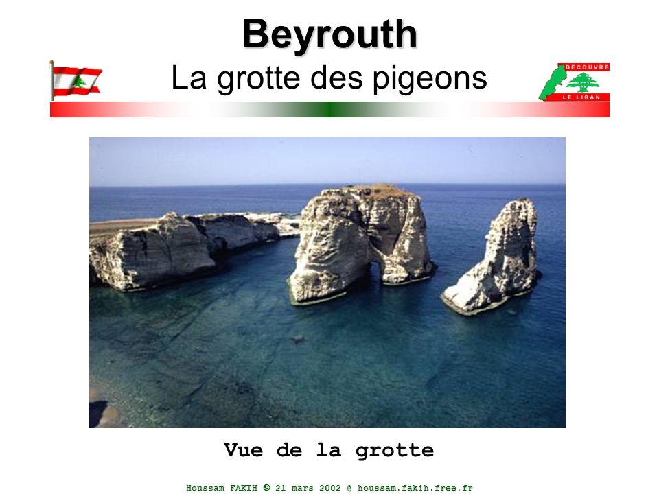 Beyrouth La grotte des pigeons