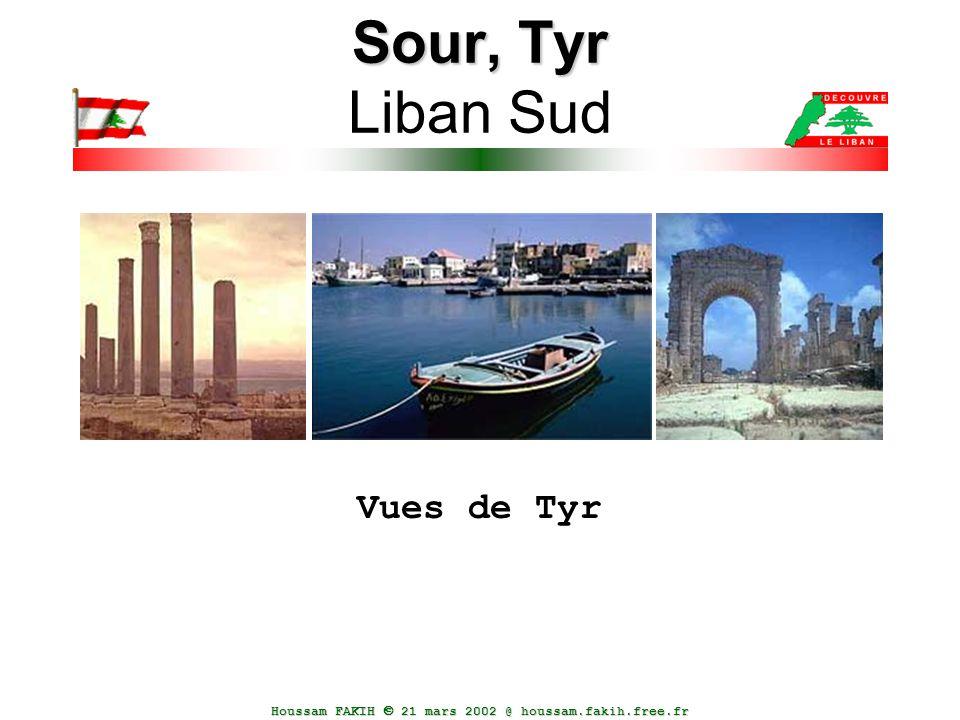 Sour, Tyr Liban Sud Vues de Tyr