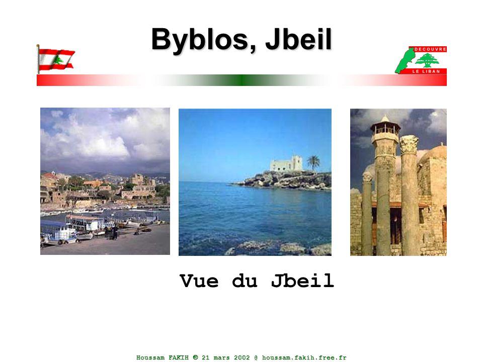 Byblos, Jbeil Vue du Jbeil