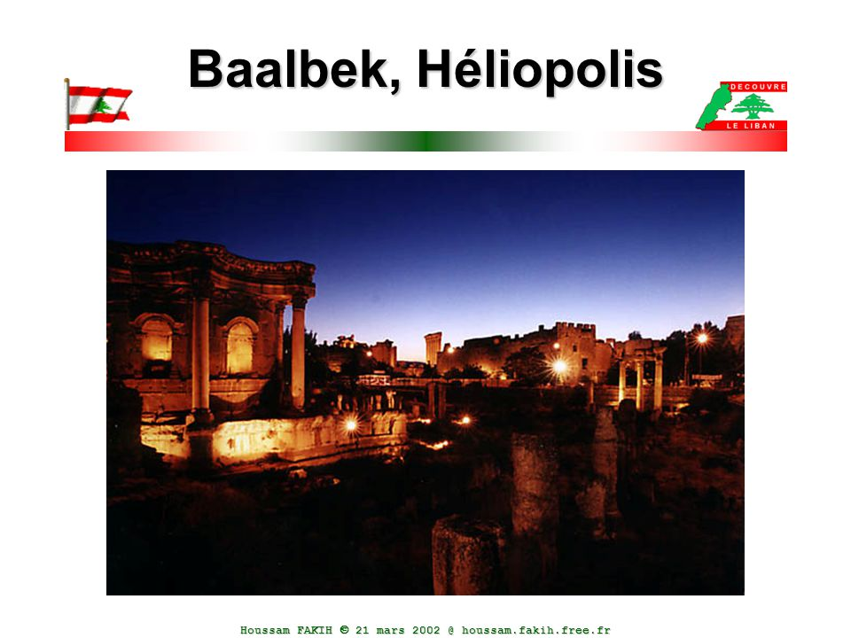 Baalbek, Héliopolis