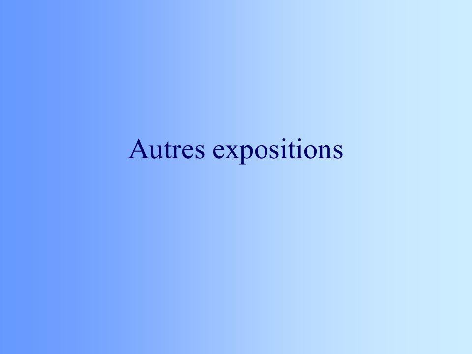 Autres expositions