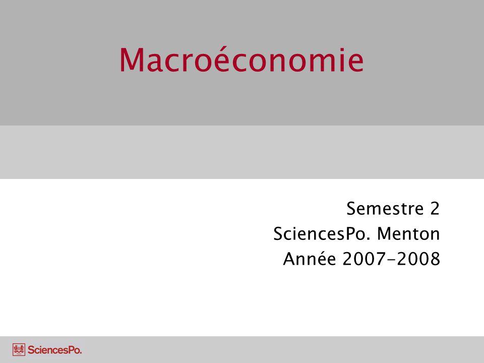 Semestre 2 SciencesPo. Menton Année 2007-2008