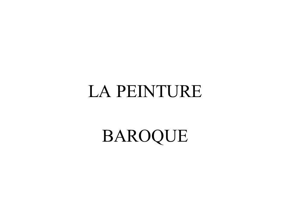 LA PEINTURE BAROQUE