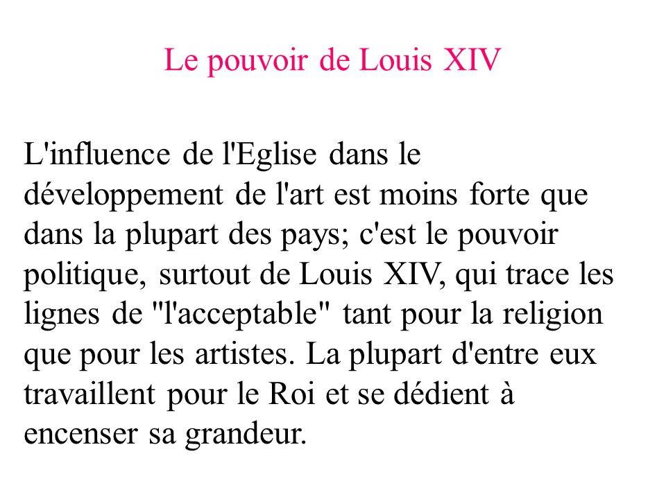 Le pouvoir de Louis XIV