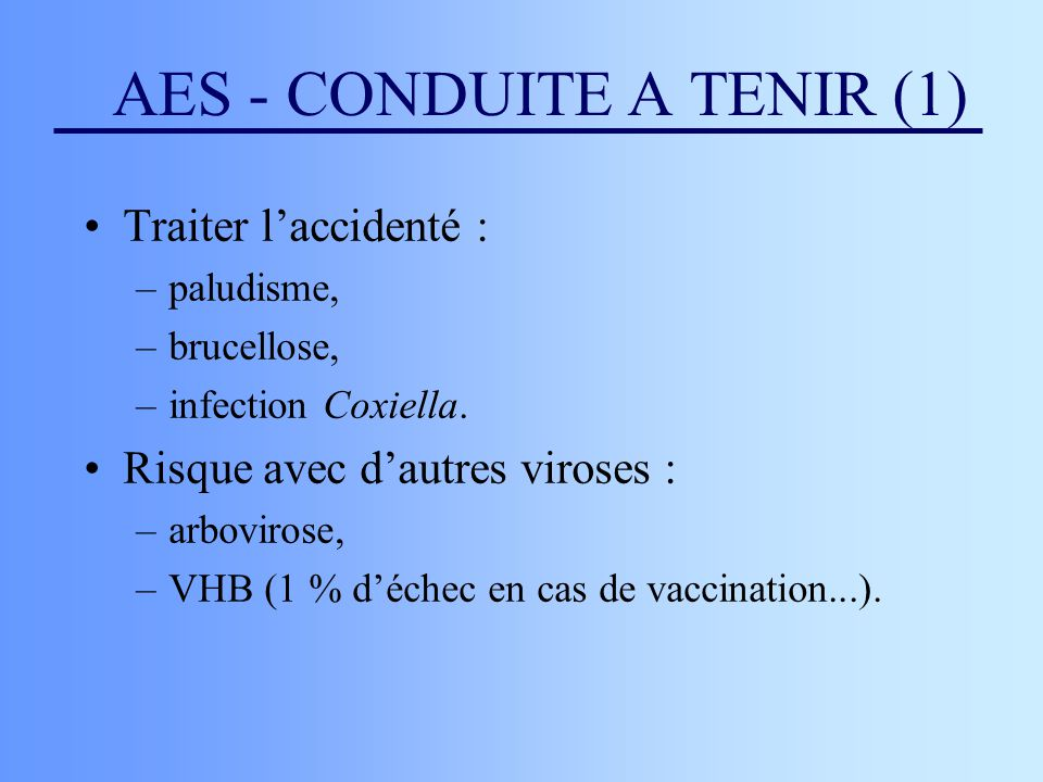 AES - CONDUITE A TENIR (1)