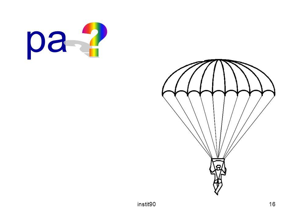 parachute instit90
