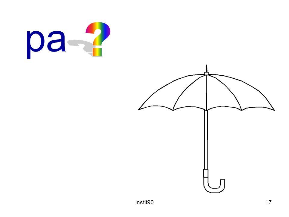 parapluie instit90