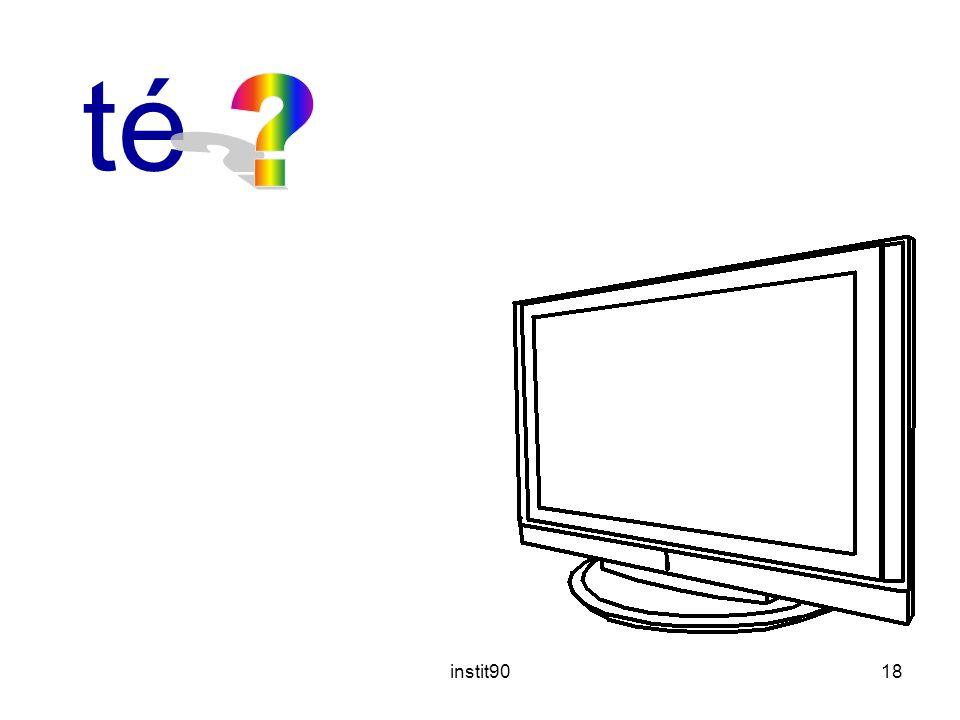 télévision instit90