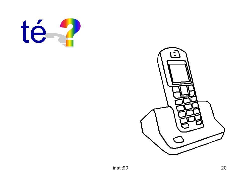 téléphone instit90