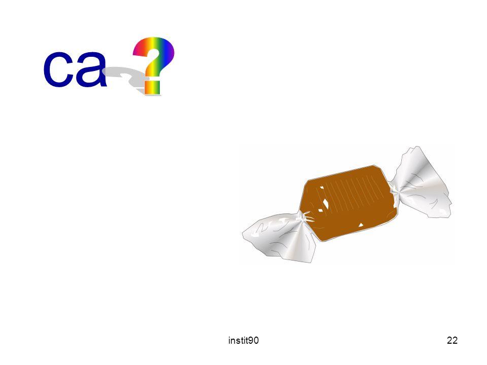 caramel instit90