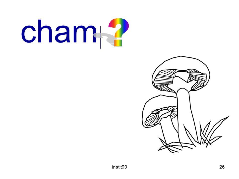 champignon instit90