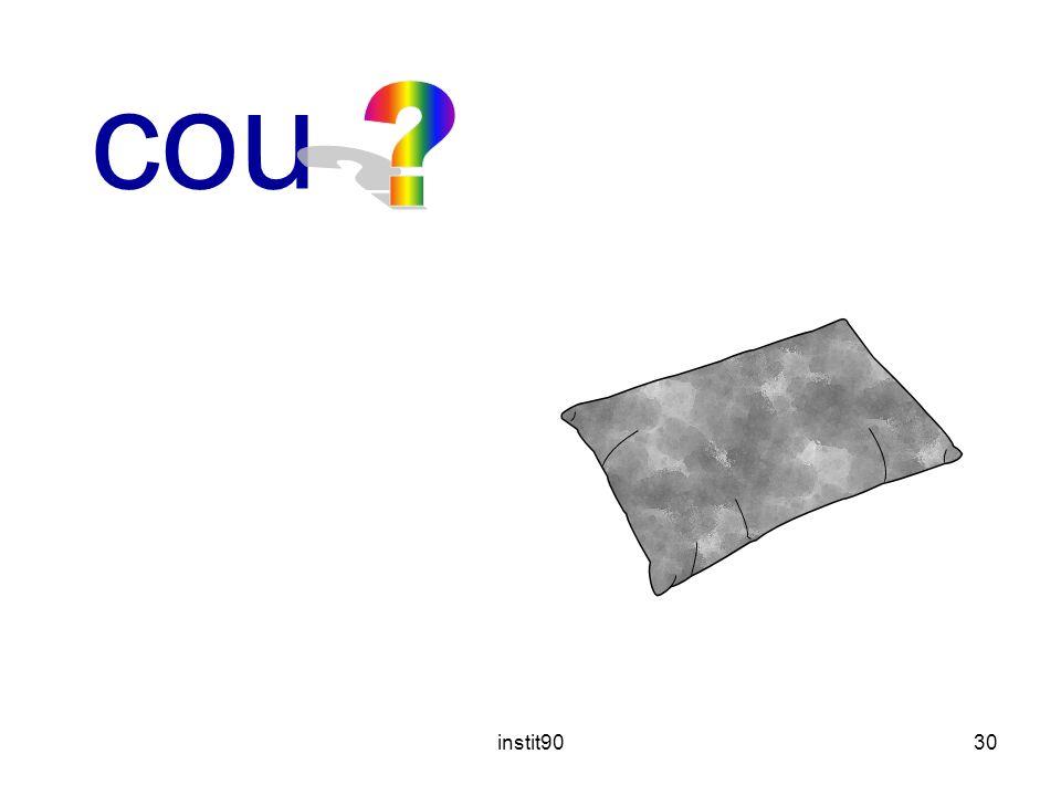 coussin instit90