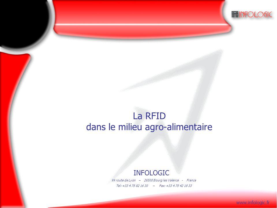 La RFID dans le milieu agro-alimentaire