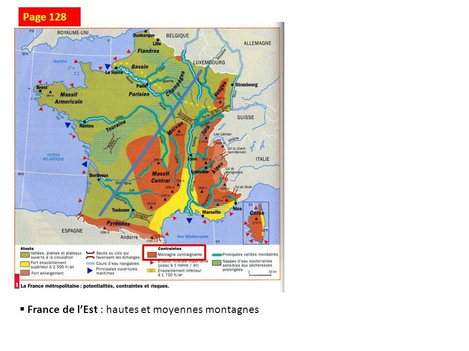 Page 128 France de l'Est : hautes et moyennes montagnes