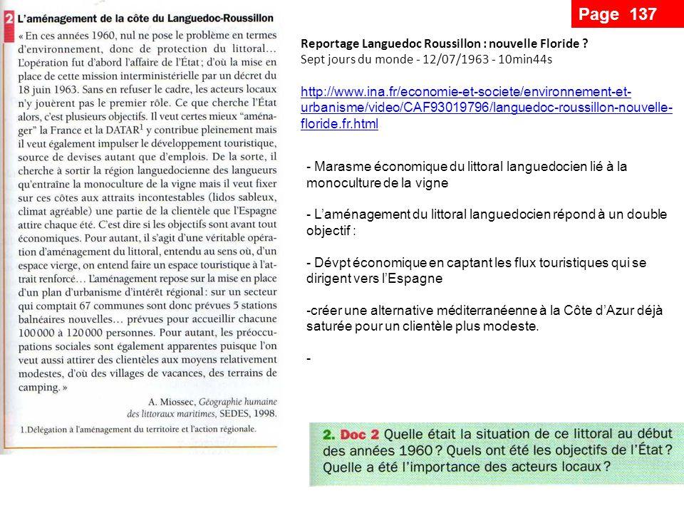 Page 137 Reportage Languedoc Roussillon : nouvelle Floride