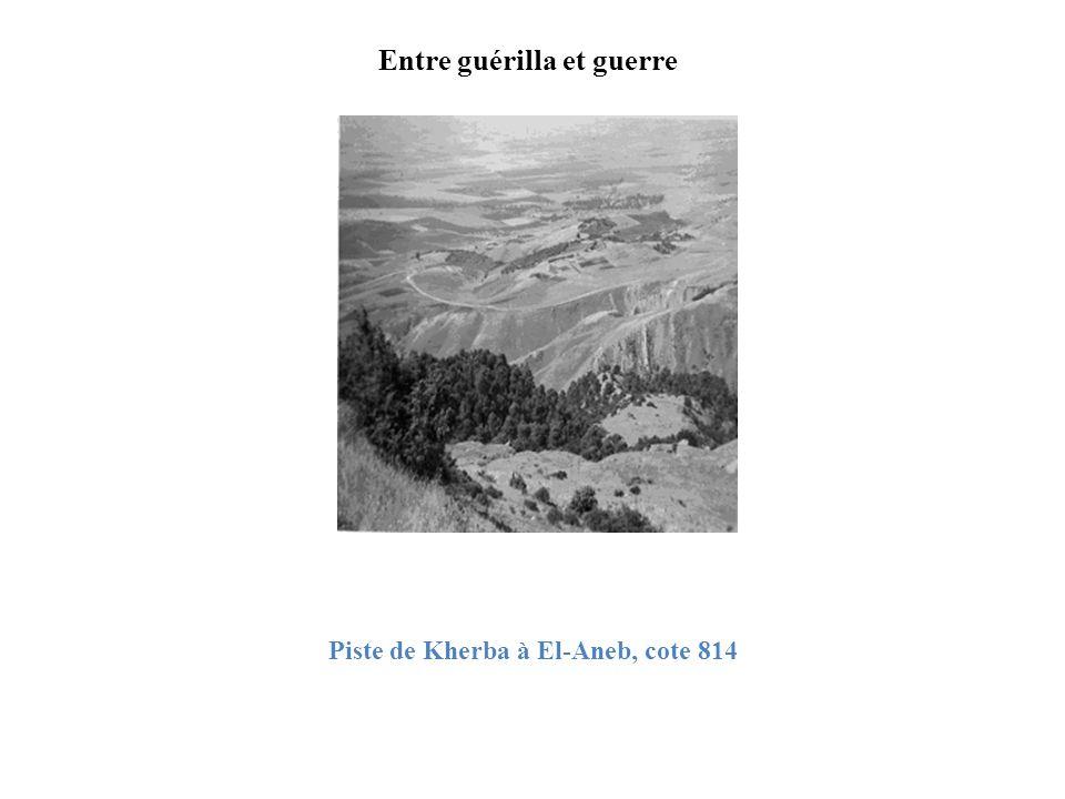 Entre guérilla et guerre Piste de Kherba à El-Aneb, cote 814