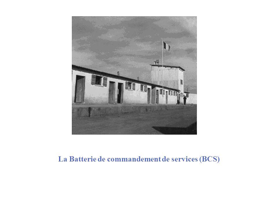 La Batterie de commandement de services (BCS)