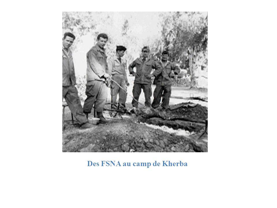 Des FSNA au camp de Kherba
