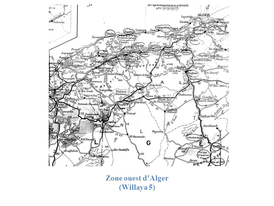 Zone ouest d'Alger (Willaya 5)