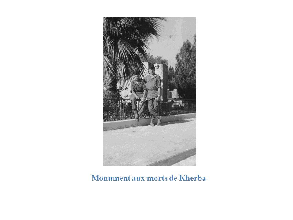 Monument aux morts de Kherba