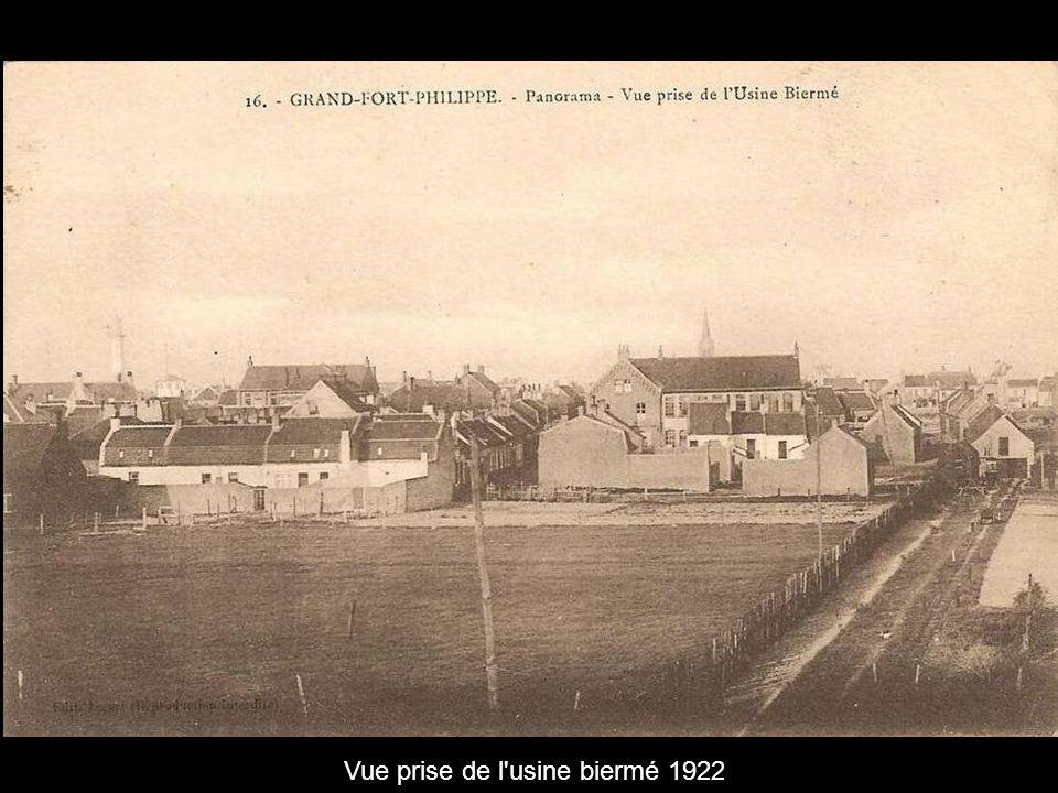 Vue prise de l usine biermé 1922