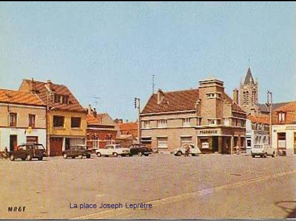 La place Joseph Leprêtre
