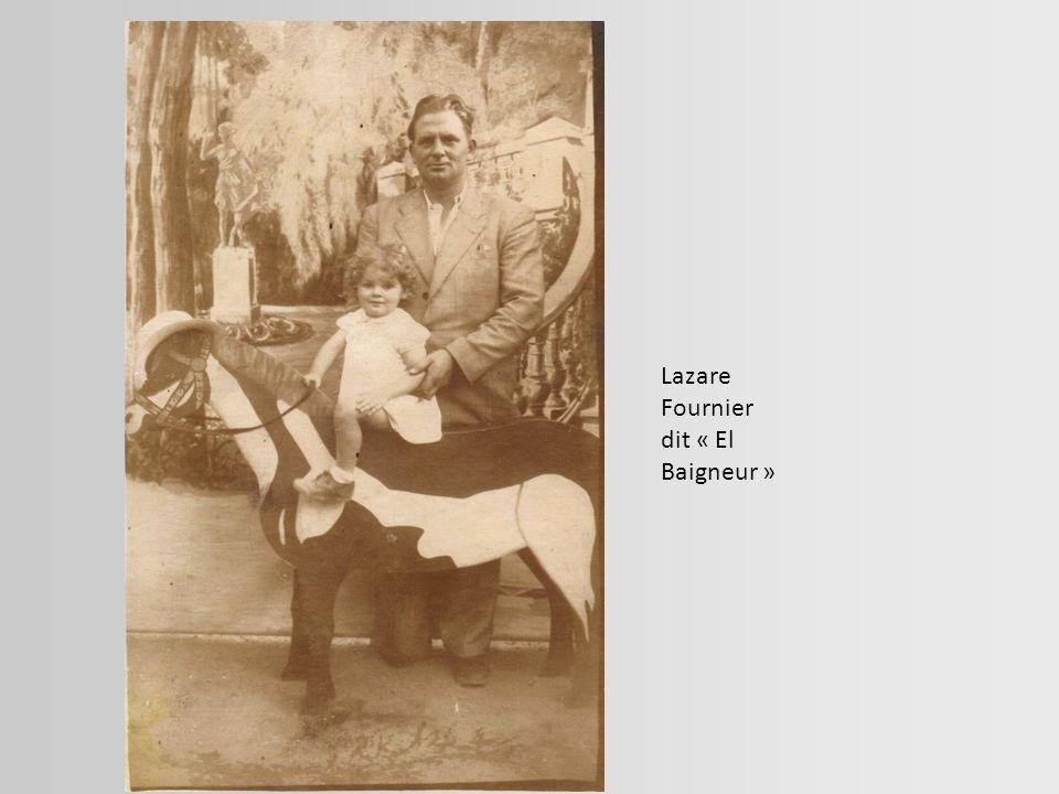 Lazare Fournier dit « El Baigneur »
