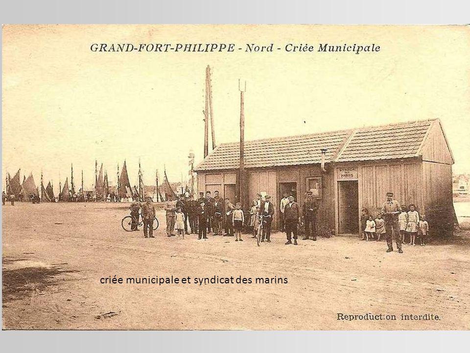 criée municipale et syndicat des marins