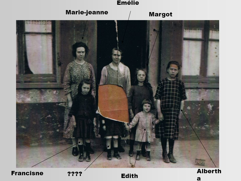 Emélie Marie-jeanne Margot Albertha Francisne Edith