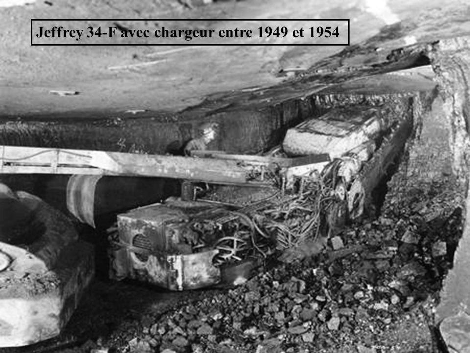 Jeffrey 34-F avec chargeur entre 1949 et 1954