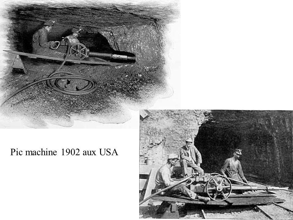 Pic machine 1902 aux USA