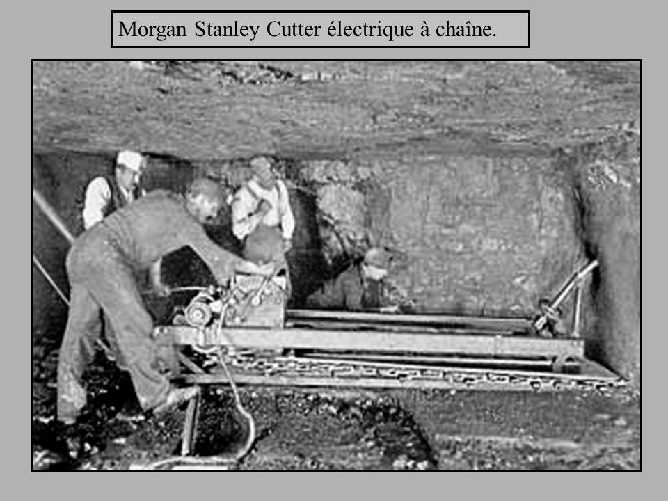 Morgan Stanley Cutter électrique à chaîne.