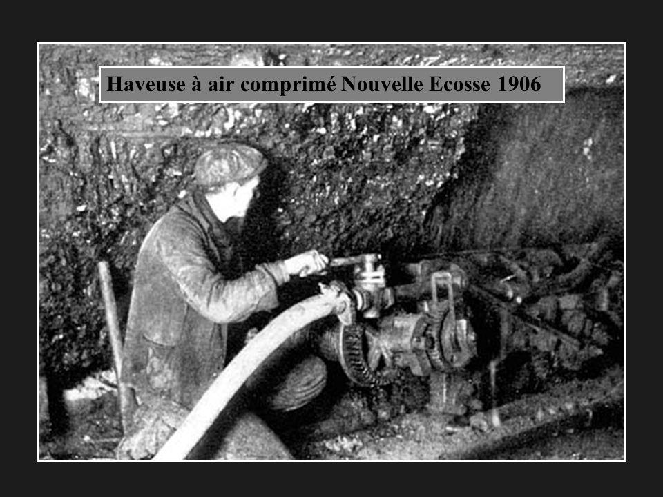Haveuse à air comprimé Nouvelle Ecosse 1906