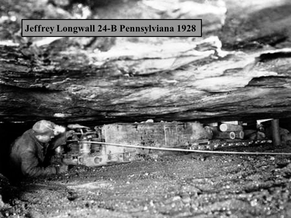 Jeffrey Longwall 24-B Pennsylviana 1928
