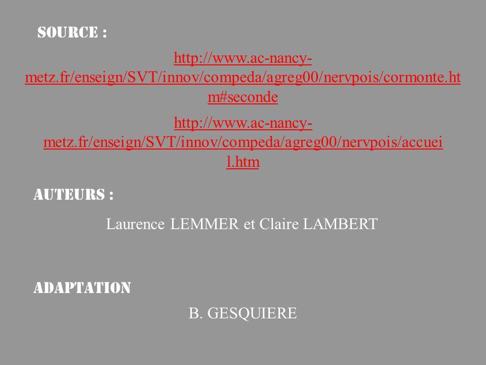 Source : http://www.ac-nancy-metz.fr/enseign/SVT/innov/compeda/agreg00/nervpois/cormonte.htm#seconde.