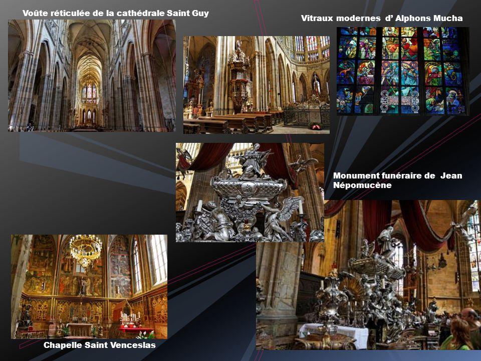 Voûte réticulée de la cathédrale Saint Guy