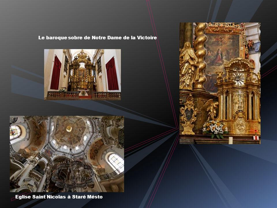 Le baroque sobre de Notre Dame de la Victoire