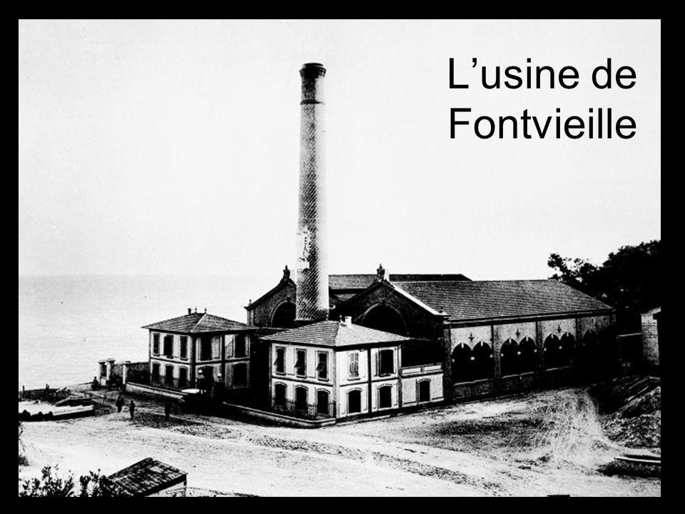 L'usine de Fontvieille