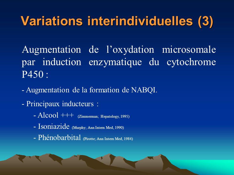 Variations interindividuelles (3)