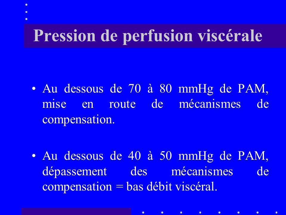 Pression de perfusion viscérale