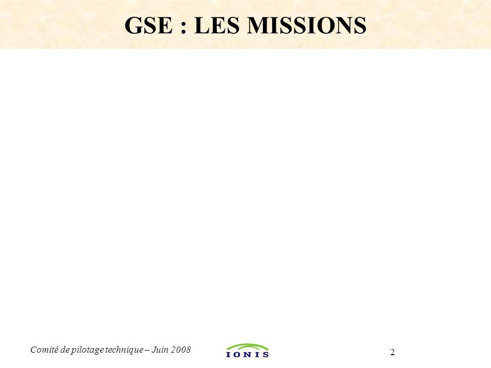 GSE : LES MISSIONS Formation «Les évolutions Java 5/6 » ; Rappelons que.