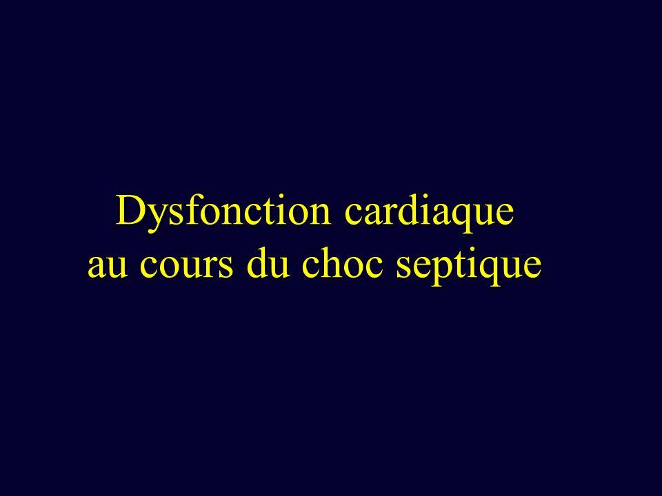 Dysfonction cardiaque au cours du choc septique