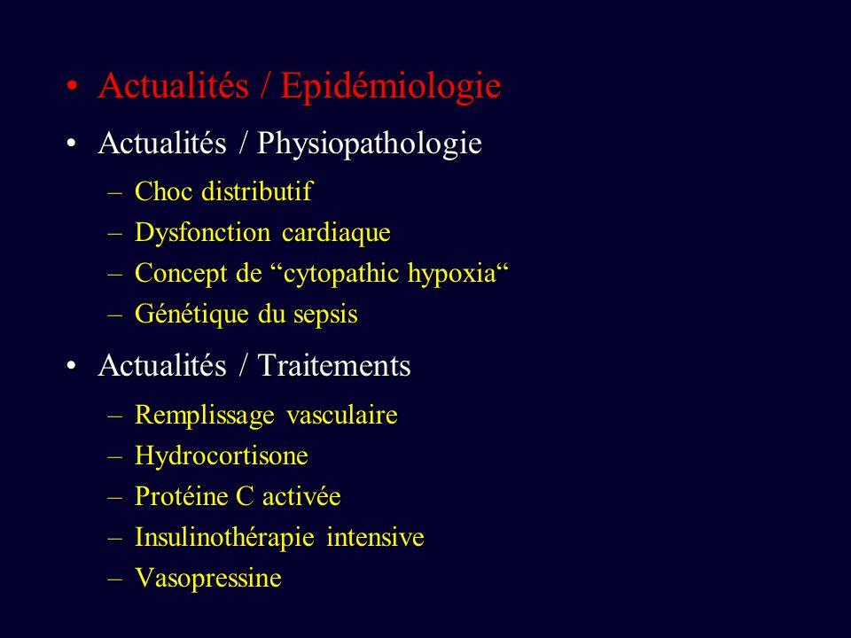 Actualités / Epidémiologie