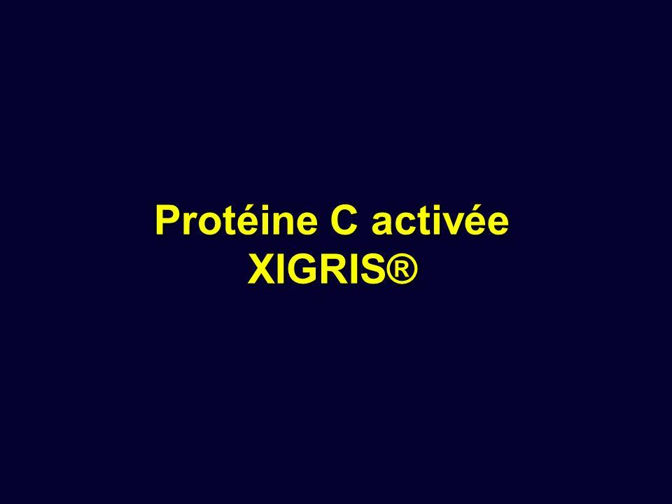Protéine C activée XIGRIS®