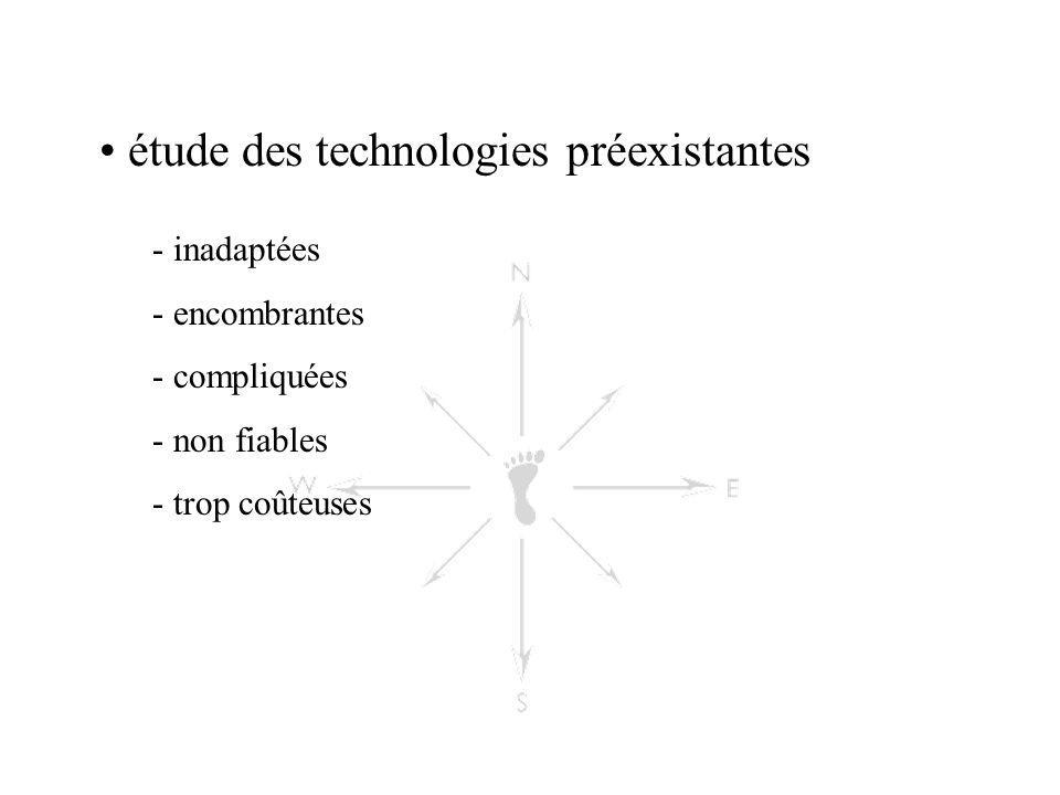 étude des technologies préexistantes
