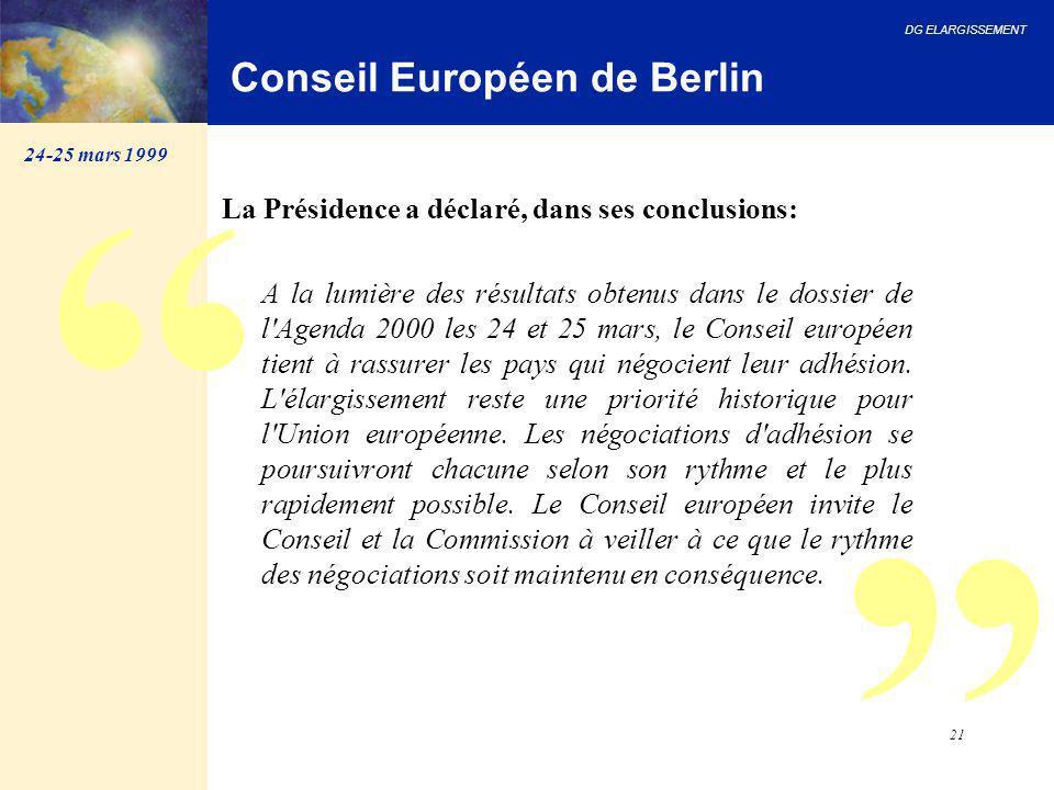 Conseil Européen de Berlin