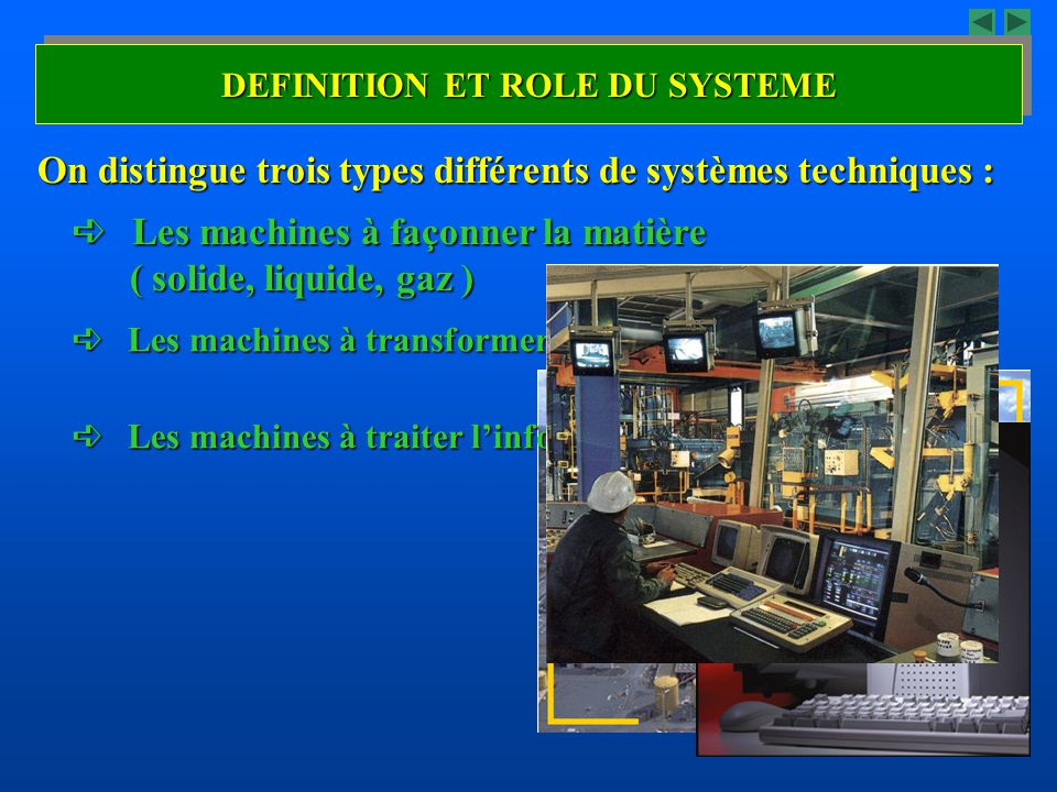 DEFINITION ET ROLE DU SYSTEME